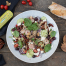 Vier Diamanten Makrelen Salat